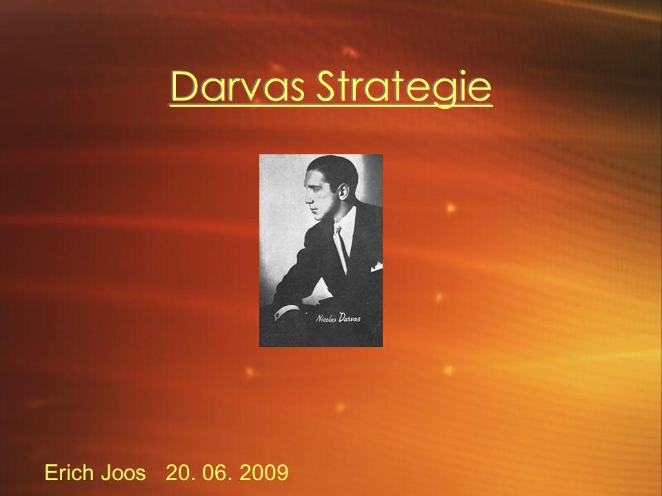 Diskussion Darvas hat seine Regeln nur grob definiert.