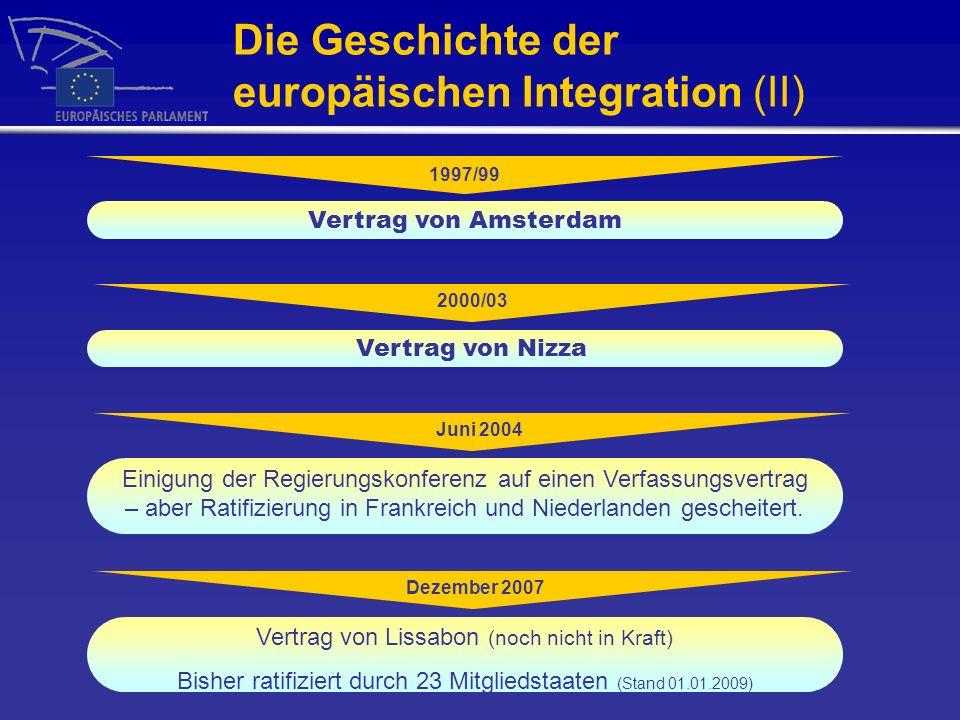 Die Europäische Kommission (I) Ein Land, ein(e) Kommissar(in).