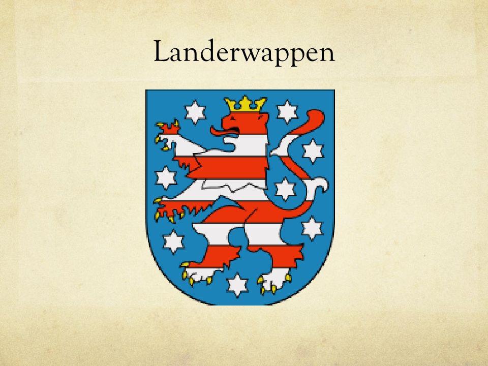 Facts Spitzname: The green heart of Germany (Der grün Herz von Deutschland) Haupstadt: Erfurt Ministerpräsident: Christine Lieberknecht Einwohnerzahl: