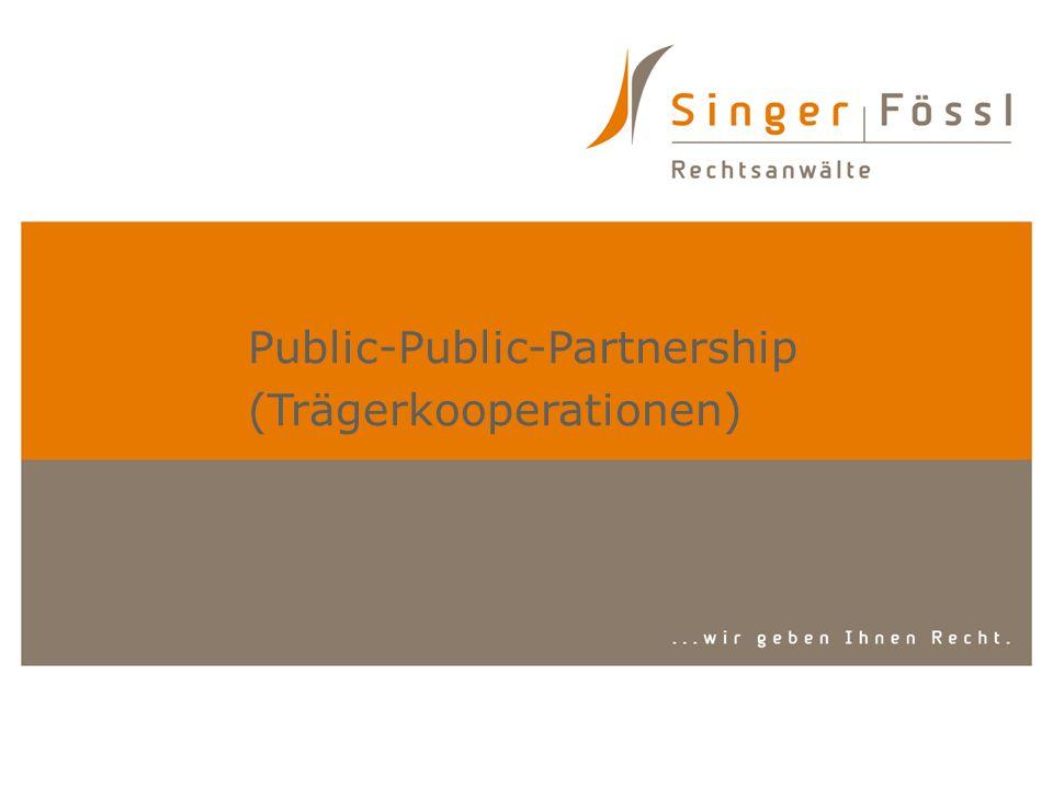 Public-Public-Partnership (Trägerkooperationen)