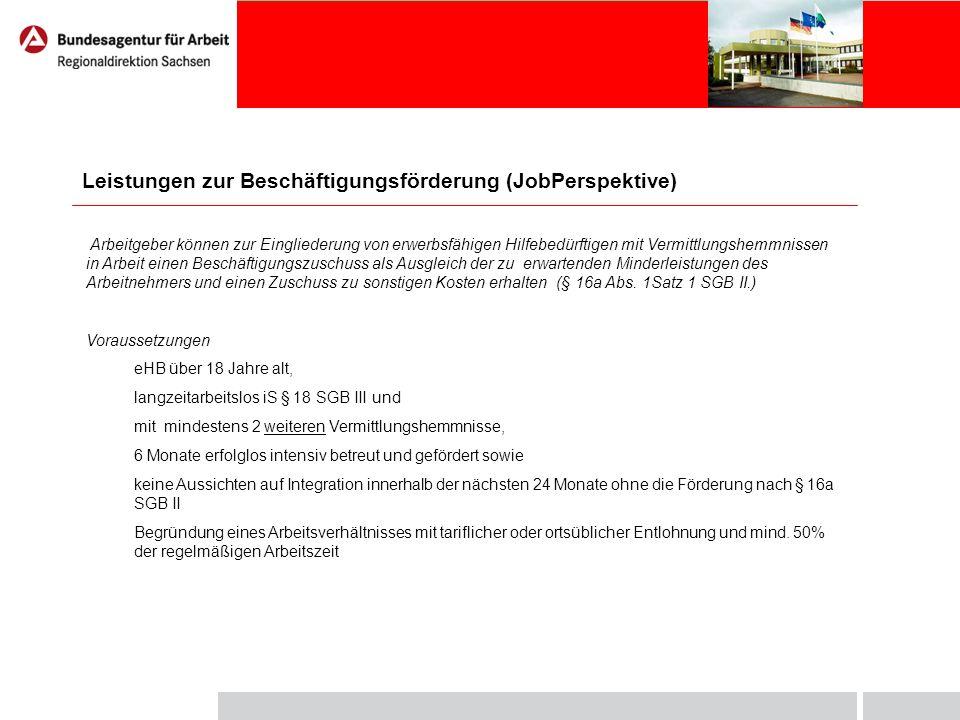 Förderumfang Zuschuss zum Arbeitsentgelt - maximal 75% des tariflichen oder ortsüblichen Arbeitsentgeltes + 20% pauschalierter AG Anteil zur Gesamtsozialversicherungsbeitrag – AG abzgl.