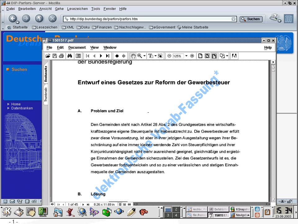 SPD-Bundestagsfraktion Die Menschen gewinnen Zu lösende organisatorische Probleme Es ist zu klären, wie die anderen Verfassungsorgane sich in diesen Prozeß einbringen wollen Die internen Arbeitsabläufe müssen überprüft werden Die Geschäftsordnung des Bundestages muß angepaßt werden.