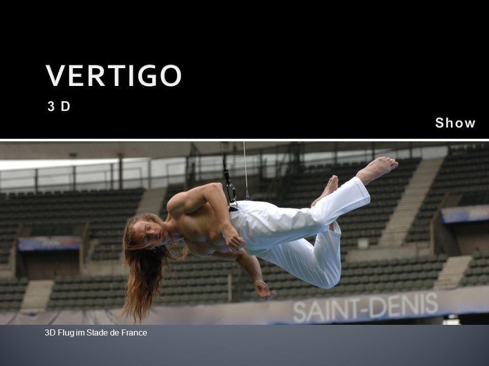 3D Flug im Stade de France