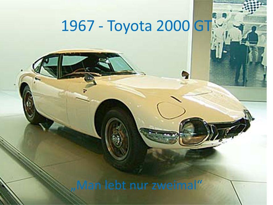 1967 - Toyota 2000 GT Man lebt nur zweimal