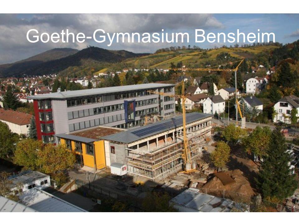 Diese Präsentation ist für euch, die neuen Fünftklässler des Goethe- Gymnasiums bestimmt.