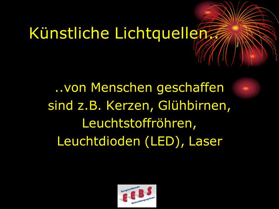 Energieverbrauch und Lichtausbeute Halogen- Metalldampflampen 150 Watt ca.