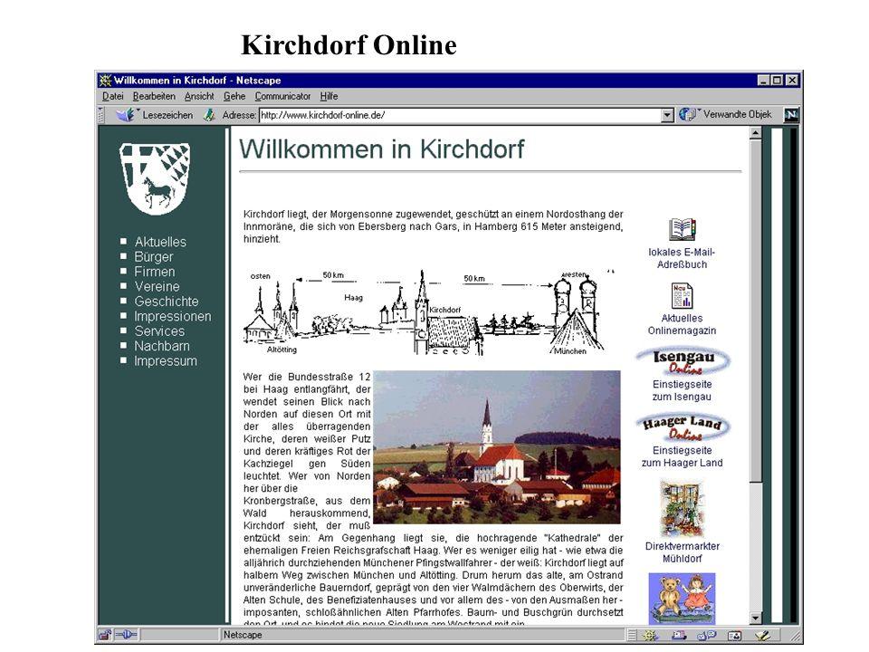 Kirchdorf Online