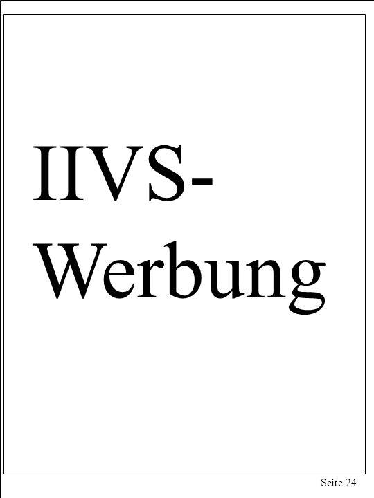 Seite 24 IIVS- Werbung