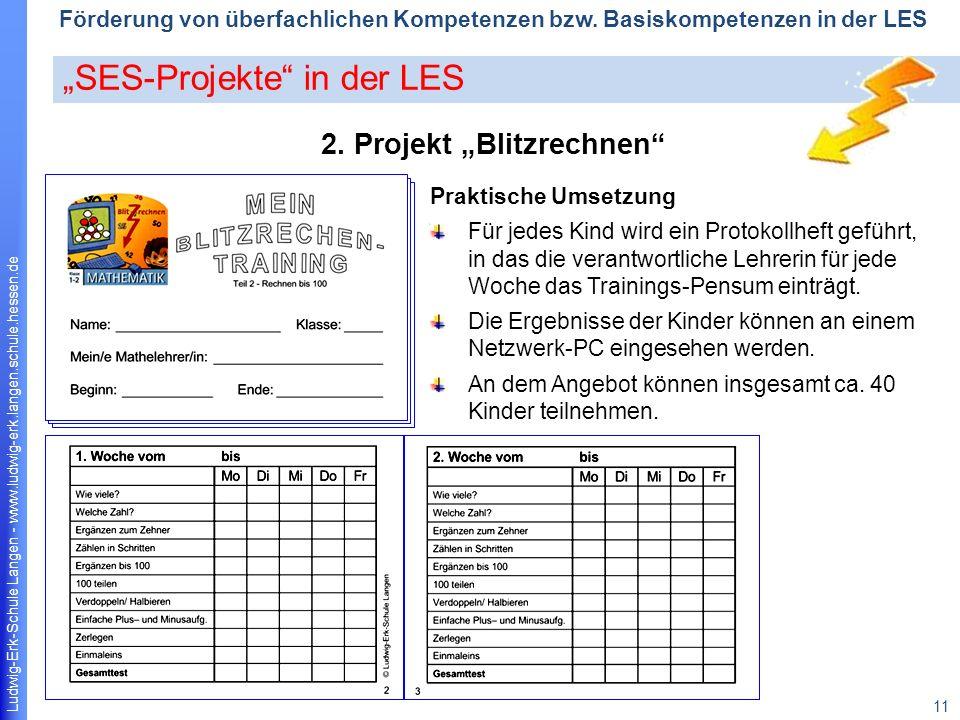 Ludwig-Erk-Schule Langen - www.ludwig-erk.langen.schule.hessen.de 11 Förderung von überfachlichen Kompetenzen bzw.