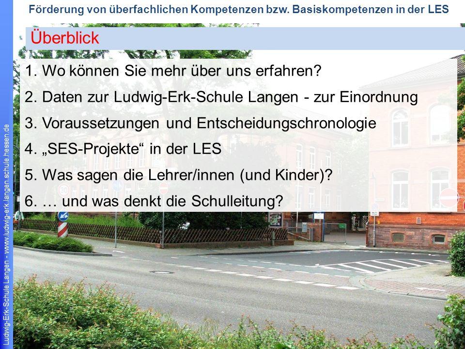 Ludwig-Erk-Schule Langen - www.ludwig-erk.langen.schule.hessen.de 13 Förderung von überfachlichen Kompetenzen bzw.