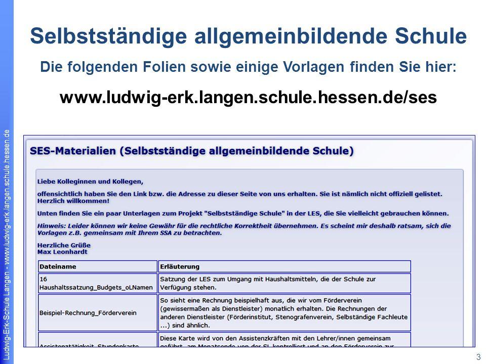 Ludwig-Erk-Schule Langen - www.ludwig-erk.langen.schule.hessen.de 14 Förderung von überfachlichen Kompetenzen bzw.