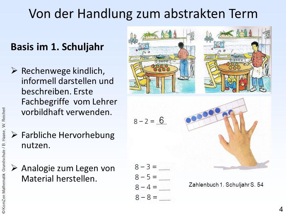 © KomZen Mathematik Grundschule / B.Haase, W. Reichert Basis im 1.