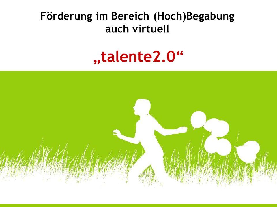 Die virtuelle Talenteakademie stellt eine weitere Säule in der Begabtenförderung dar.