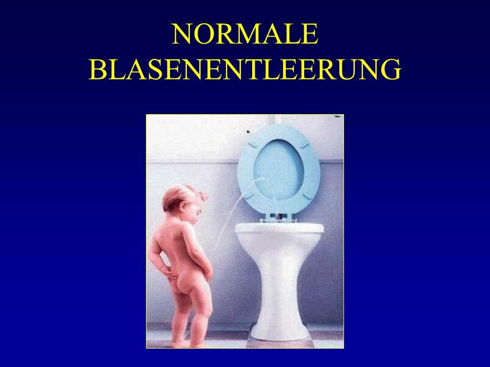 NORMALE BLASENENTLEERUNG