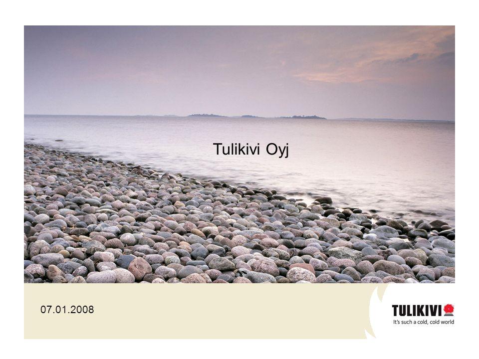 07.01.2008 Tulikivi Oyj