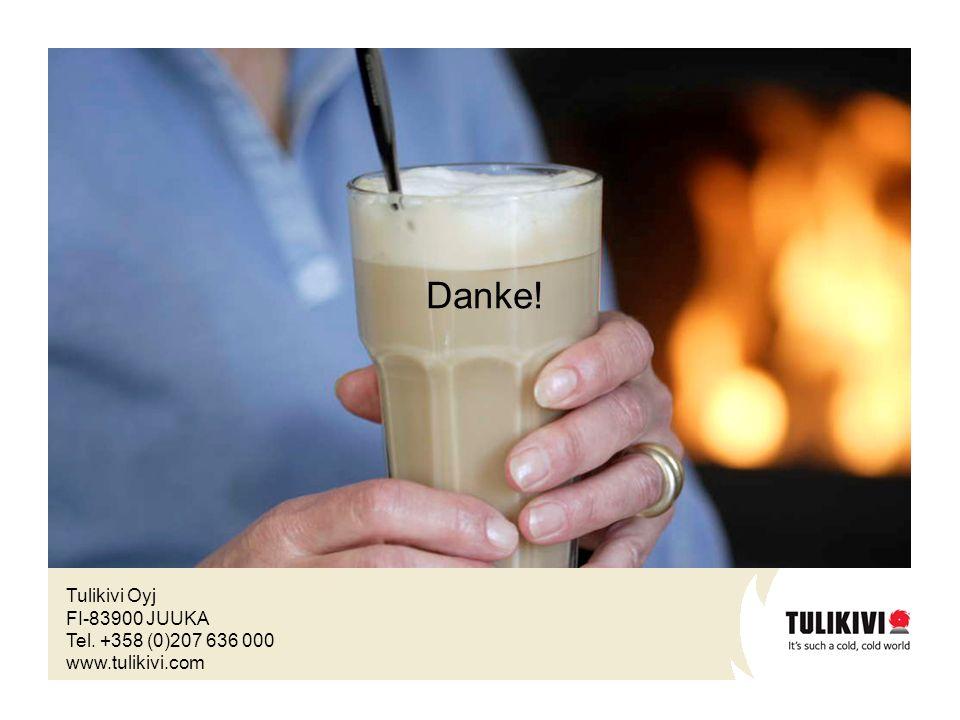 Tulikivi Oyj FI-83900 JUUKA Tel. +358 (0)207 636 000 www.tulikivi.com Danke!