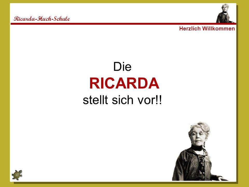 Ricarda-Huch-Schule Unsere Namensgeberin Ricarda Huch (1864 – 1947) Schriftstellerin und Historikerin eine Rebellin des Gewissens, eine Leuchtende Spur, gebildet, phantasievoll, standhaft, gewissenhaft, vorbildhaft Ricarda eben!