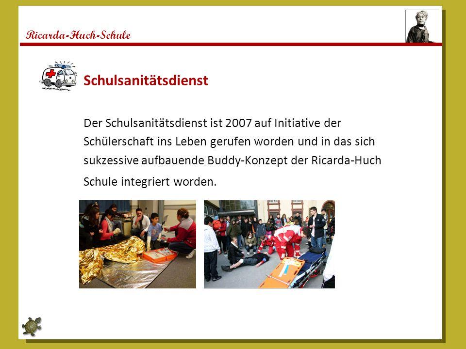 Ricarda-Huch-Schule Vorhaben und Perspektiven 1.Ausbau des rhythmisierten Schultages 2.