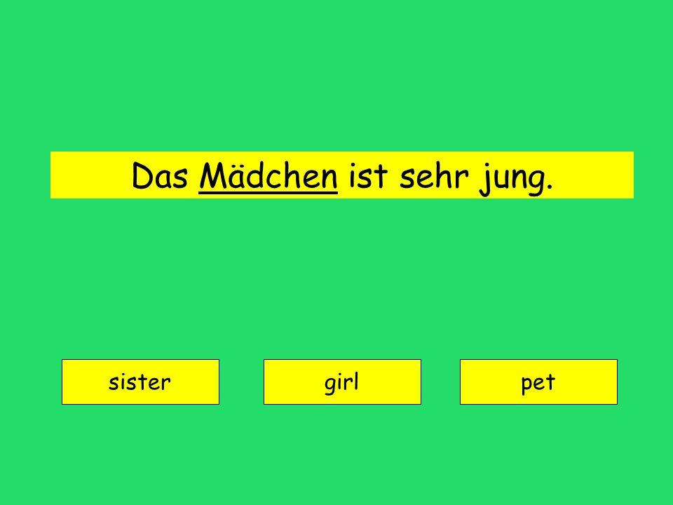Junge = boy