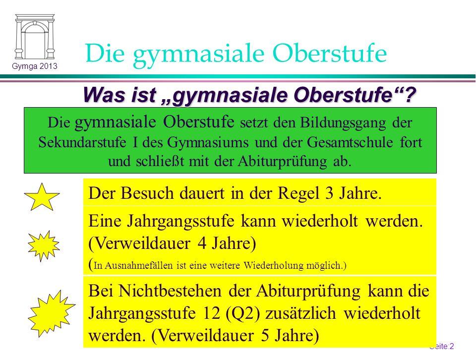 Seite:1 1 Gymga 2013 APO-GOSt 2010 (B)