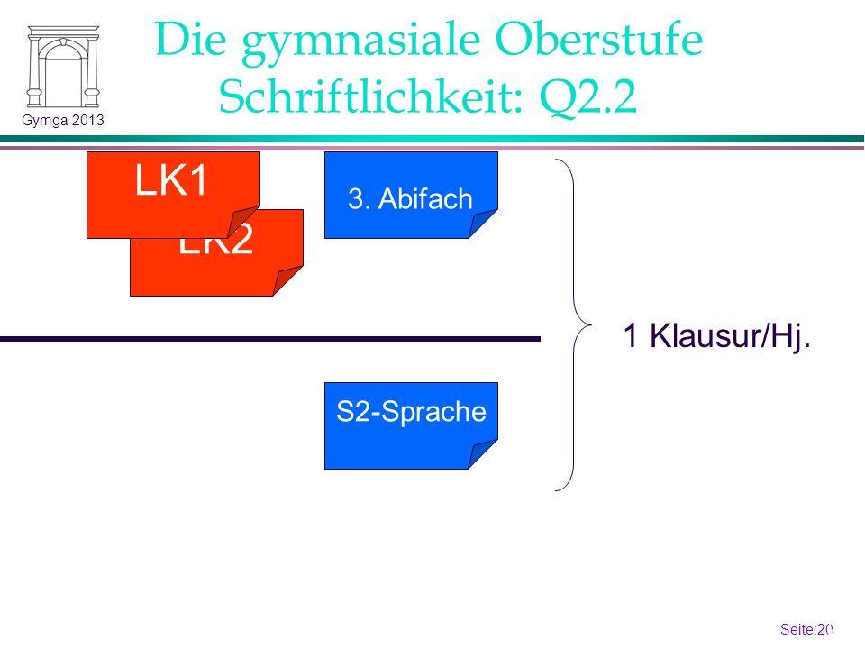 Seite:19 19 Gymga 2013 2.NW/2.FS LK2 LK1 mögliches 4.