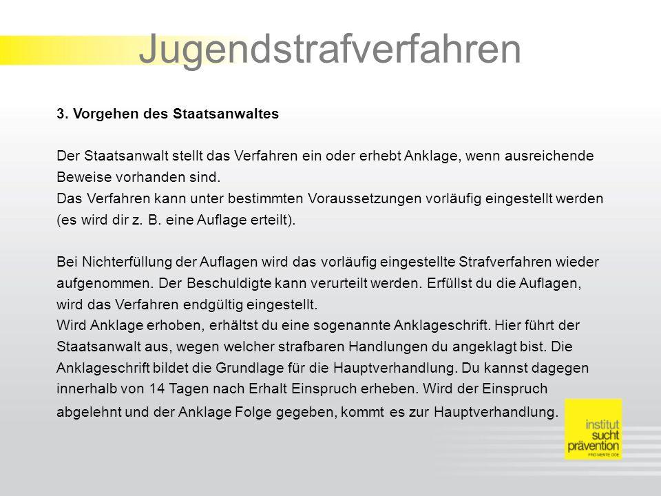 Jugendstrafverfahren 3.