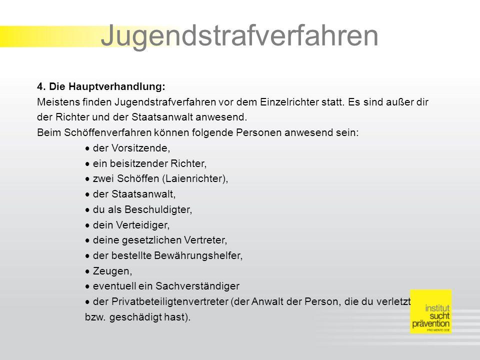 Jugendstrafverfahren 4.