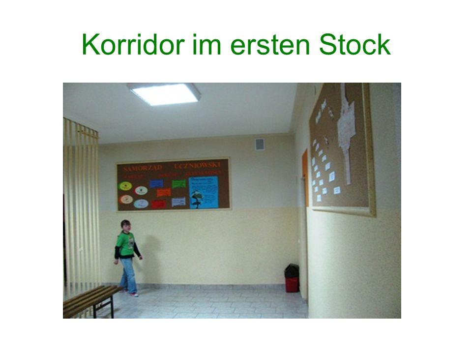 Korridor im ersten Stock