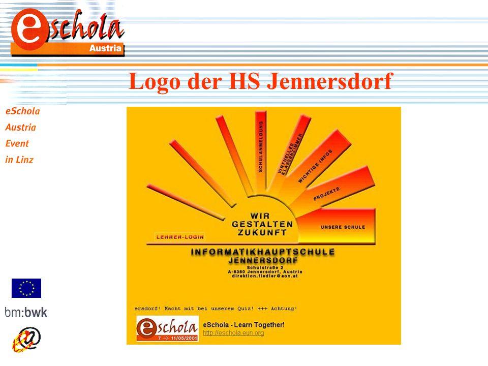 Hier bitte Screenshot 1 einfügen! Logo der HS Jennersdorf