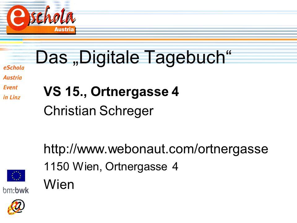 Das Digitale Tagebuch VS 15., Ortnergasse 4 Christian Schreger http://www.webonaut.com/ortnergasse 1150 Wien, Ortnergasse 4 Wien