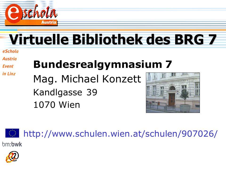 Bundesrealgymnasium 7 Mag.