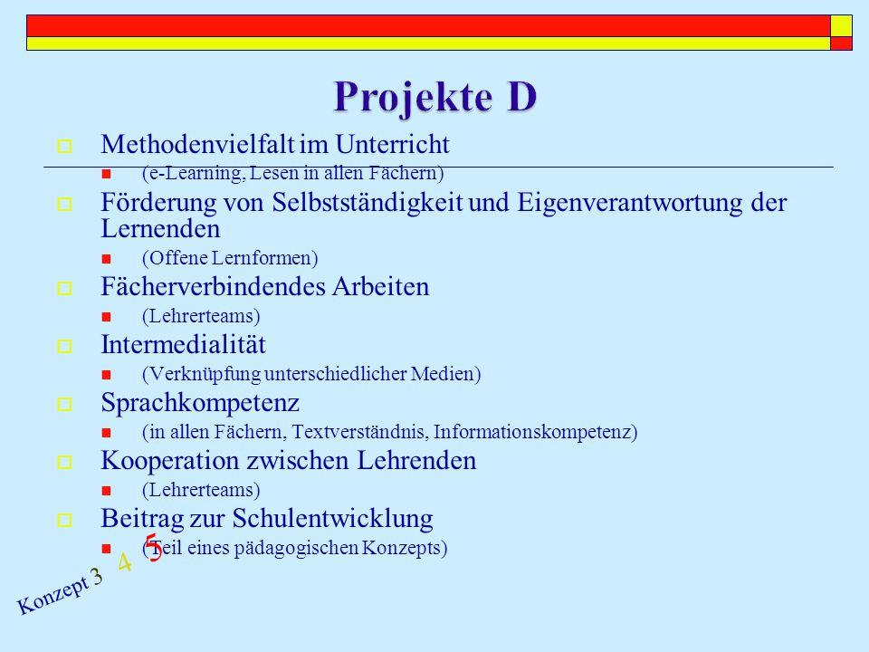 Unterrichtsinnovation Konzept 3 4 5