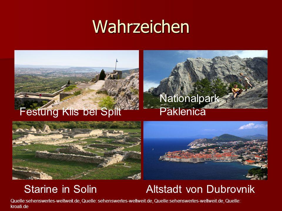 Wahrzeichen Festung Klis bei Spilt Nationalpark Paklenica Starine in SolinAltstadt von Dubrovnik Quelle:sehenswertes-weltweit.de, Quelle: sehenswertes