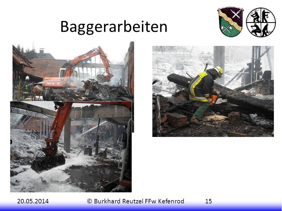 20.05.2014© Burkhard Reutzel FFw Kefenrod15 Baggerarbeiten