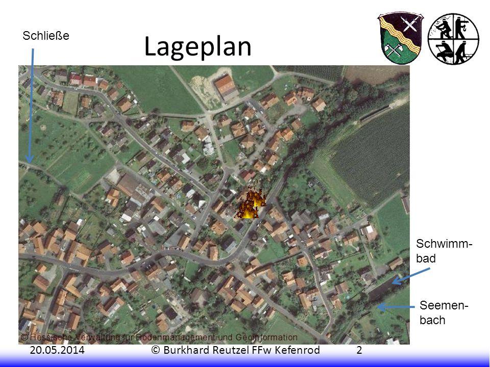 20.05.2014© Burkhard Reutzel FFw Kefenrod2 Lageplan Schwimm- bad Seemen- bach Schließe