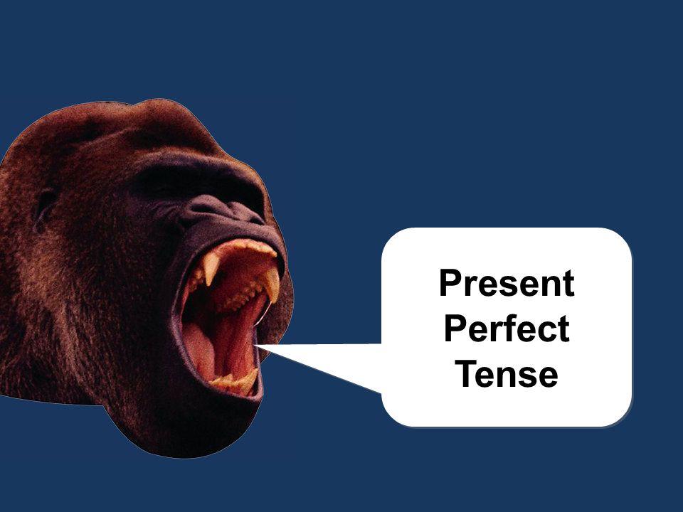 chomp! Present Perfect Tense Present Perfect Tense