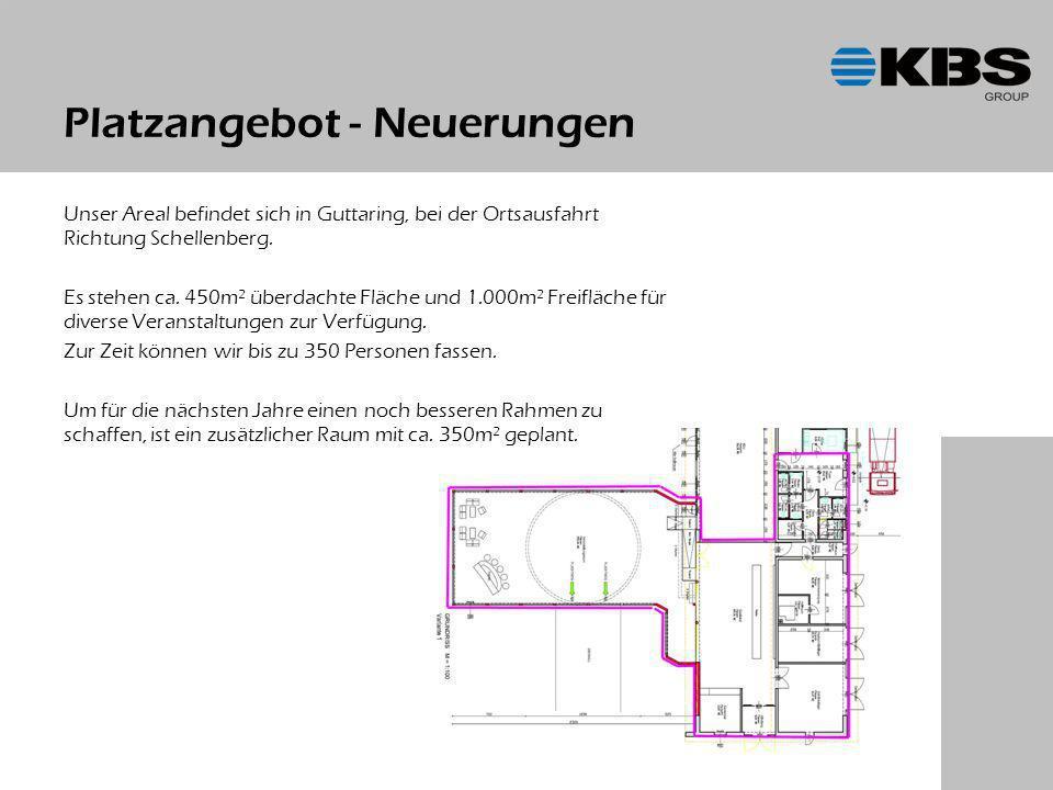 Platzangebot - Neuerungen Unser Areal befindet sich in Guttaring, bei der Ortsausfahrt Richtung Schellenberg.