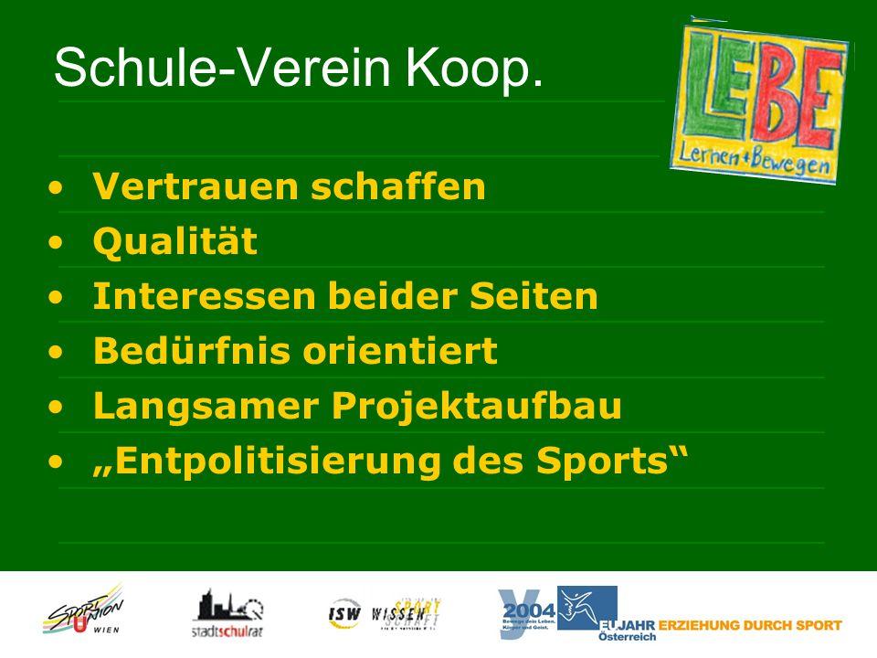 Schule-Verein Koop.
