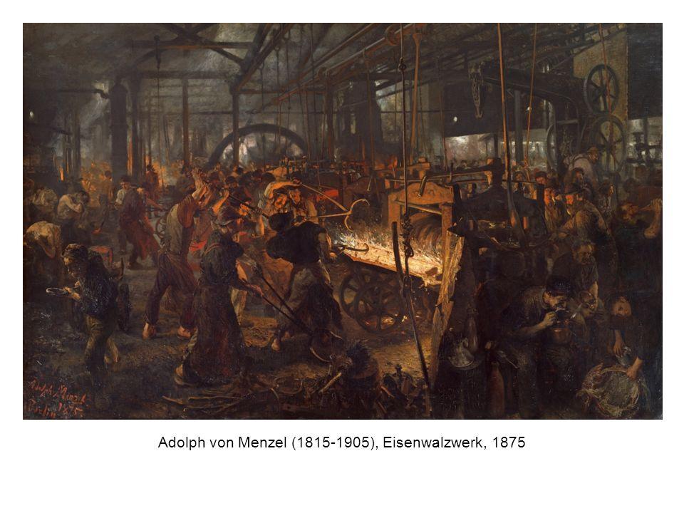 Adolph von Menzel (1815-1905), Eisenwalzwerk, 1875