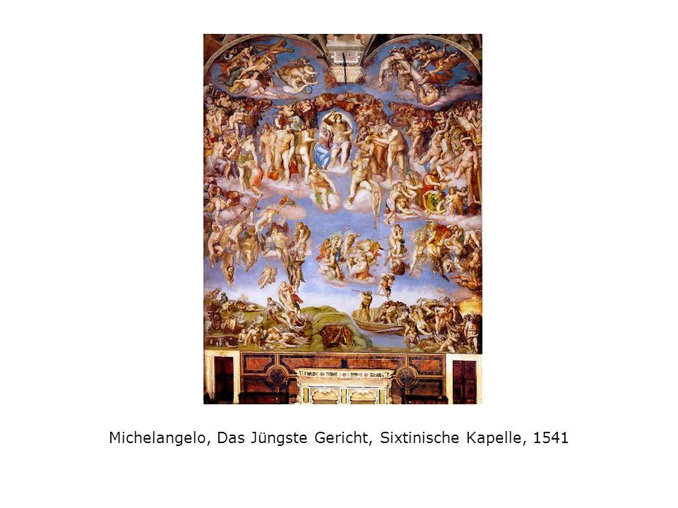 Michelangelo, Das Jüngste Gericht, Sixtinische Kapelle, 1541