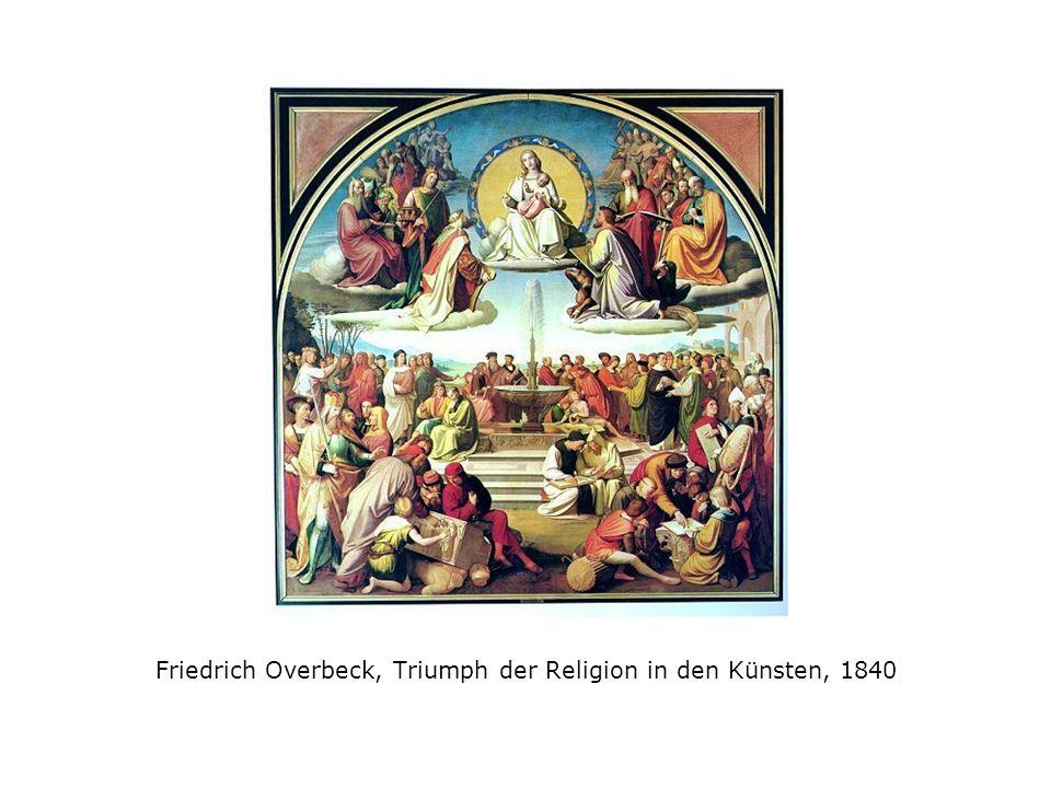 Friedrich Overbeck, Triumph der Religion in den Künsten, 1840