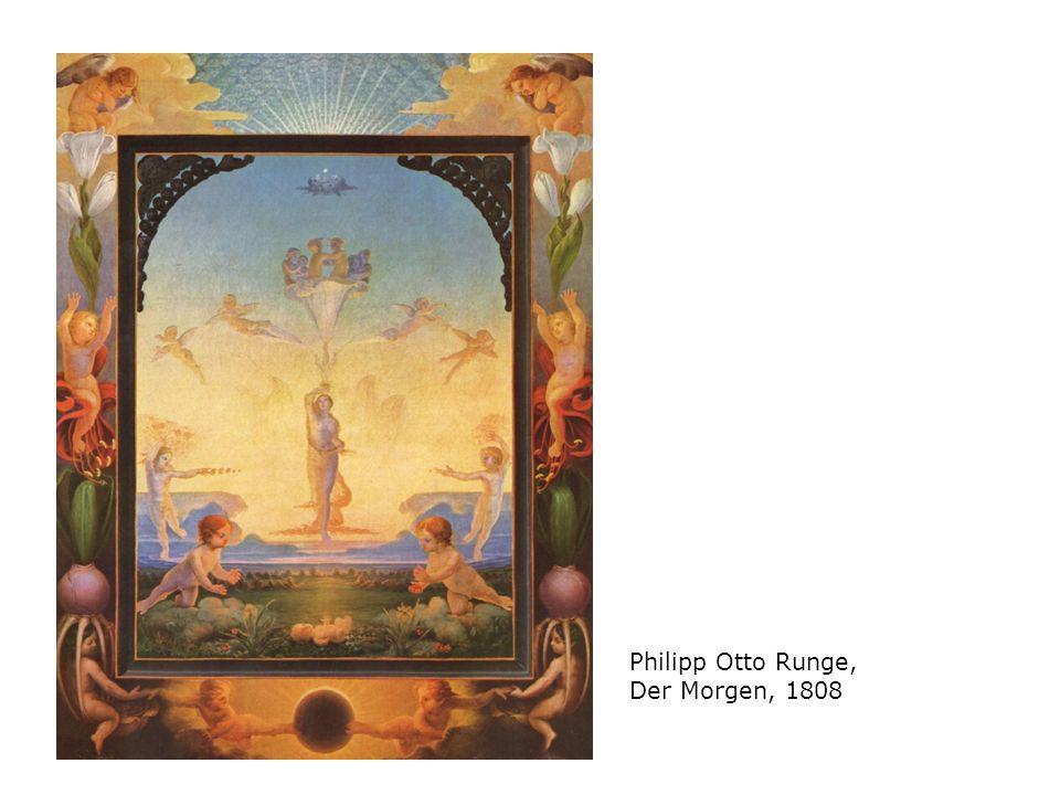 Philipp Otto Runge, Der Morgen, 1808