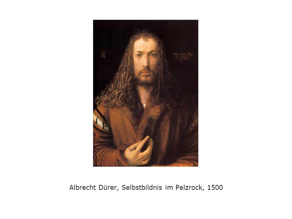Albrecht Dürer, Selbstbildnis im Pelzrock, 1500