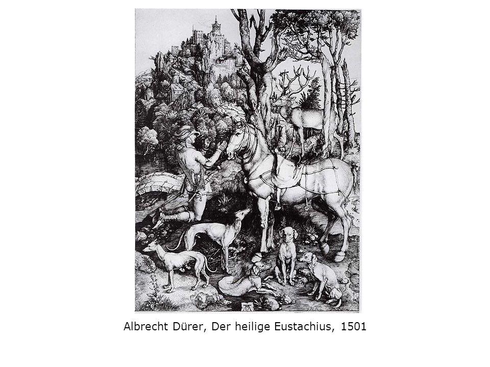 Albrecht Dürer, Der heilige Eustachius, 1501