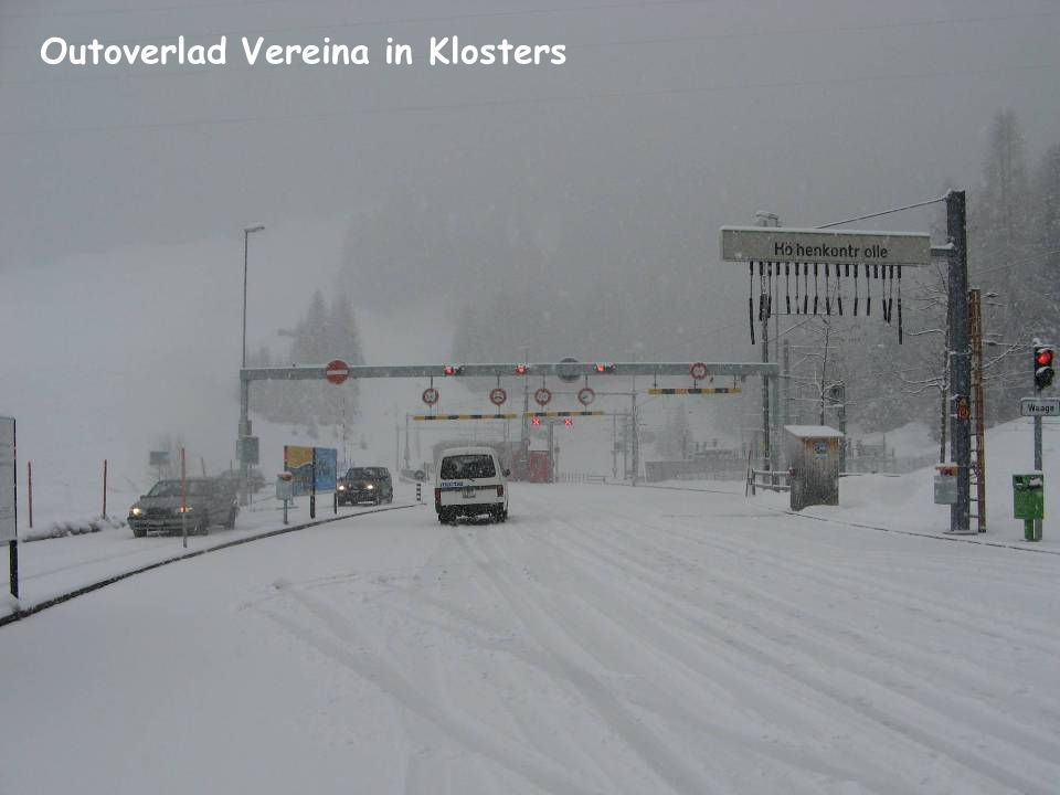 Outoverlad Vereina in Klosters