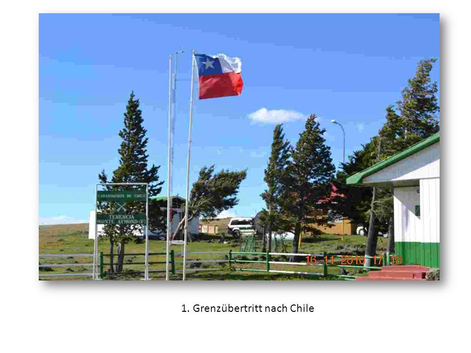 1. Grenzübertritt nach Chile