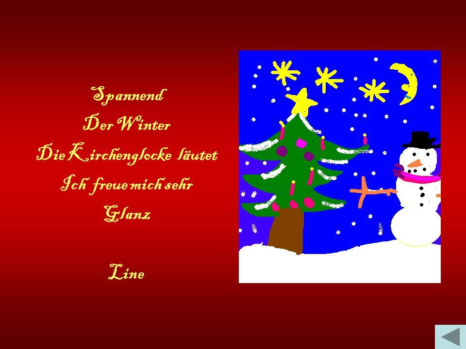 Aufregend Das Christkind Kommt am 24.Dezember Ich freue mich darauf Glanz Lucie