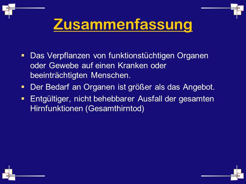 ...Künstlicher Winterschlaf Abblocken des Sauerstoffs z.B.