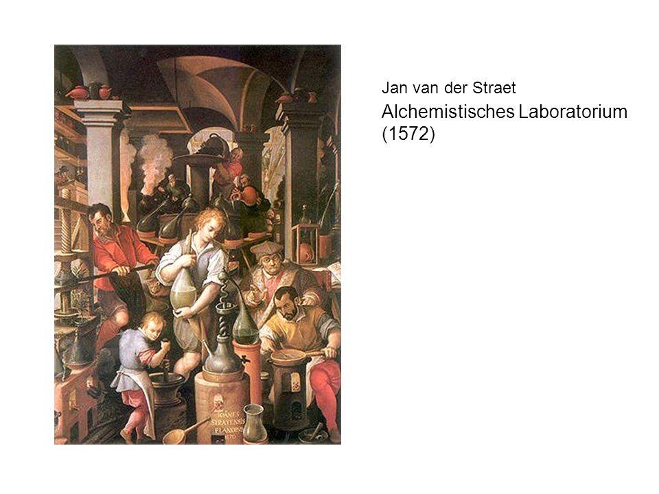 Jan van der Straet Alchemistisches Laboratorium (1572)