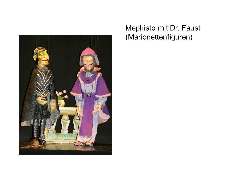 Mephisto mit Dr. Faust (Marionettenfiguren)